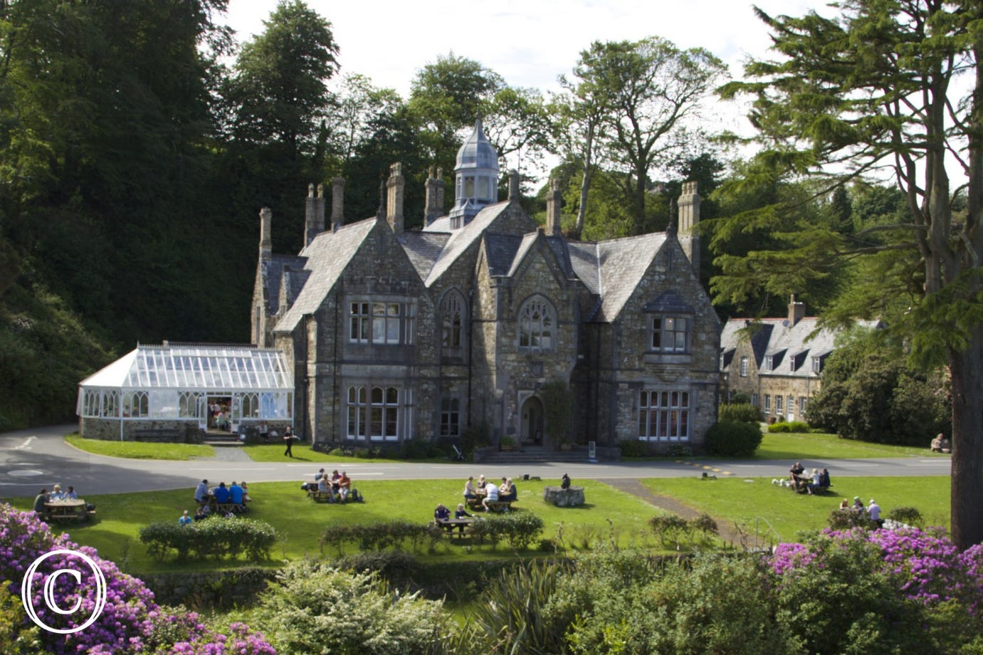 Oriel Plas Glyn Y Weddw Arts Centre and Tea Room in Llanbedrog (8 miles)