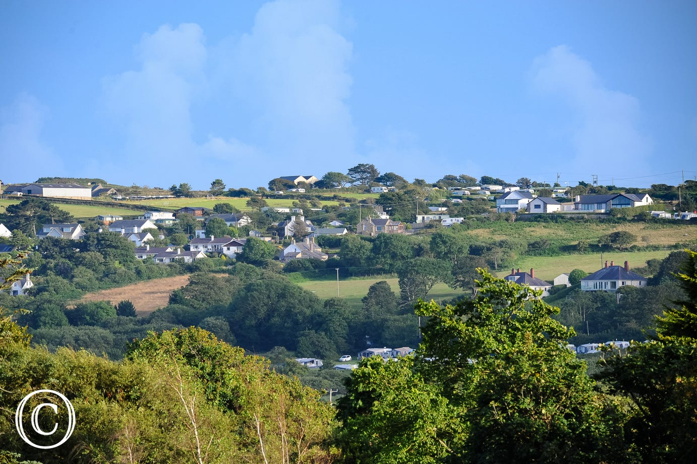 The house sits in an elevated position yet is within walking distance of the centre of Abersoch