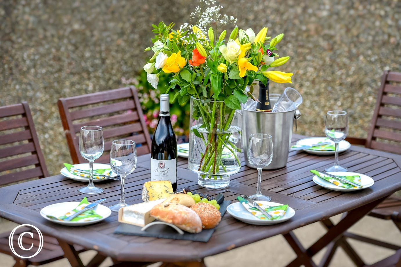 Treat yourself to alfresco dining