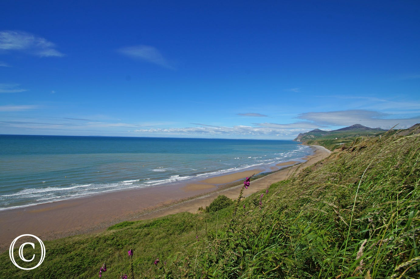 Nefyn Beach - plenty of sand and just 6.8 miles from the cottage