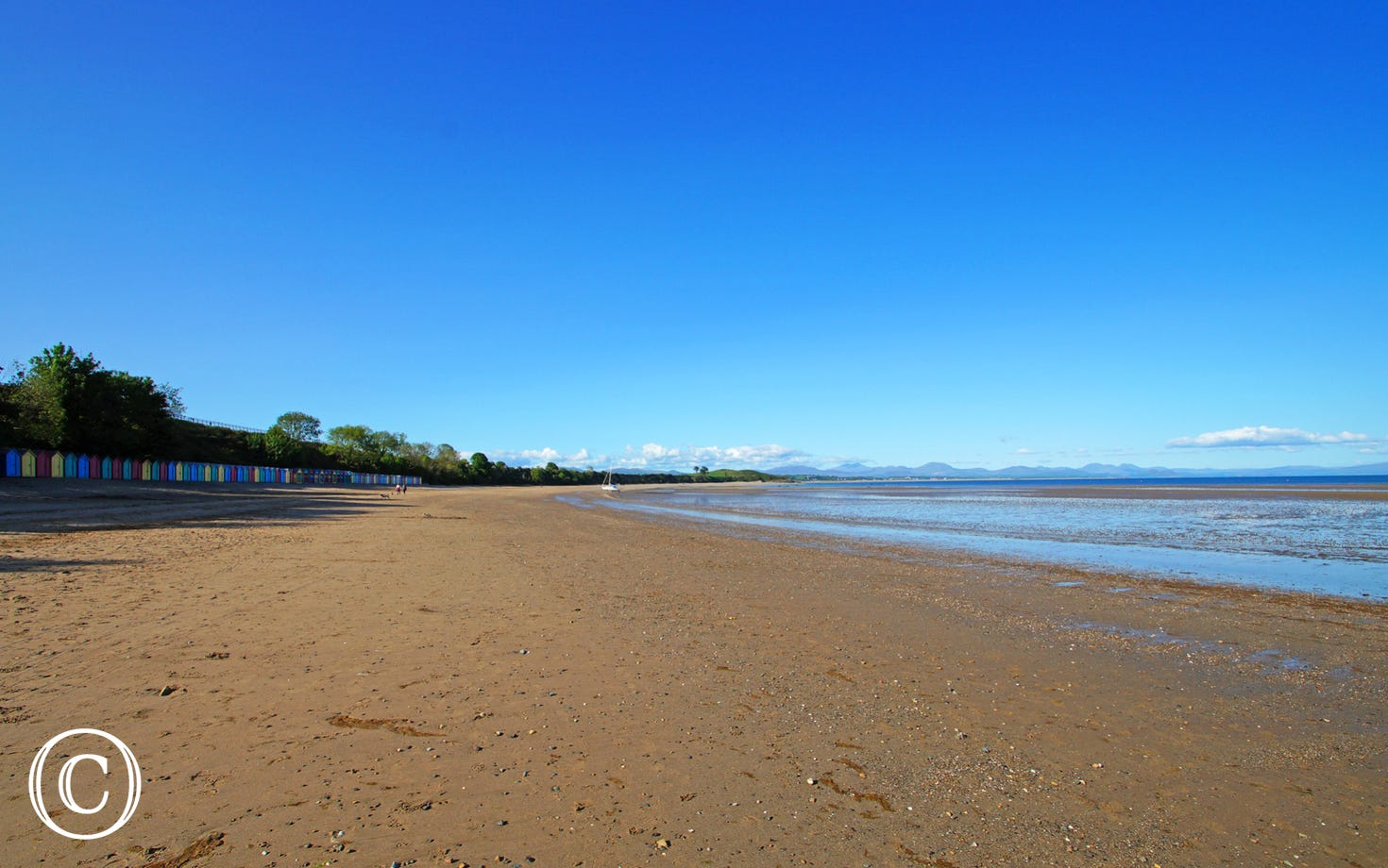 Llanbedrog Beach, another beach that's just a short distance away