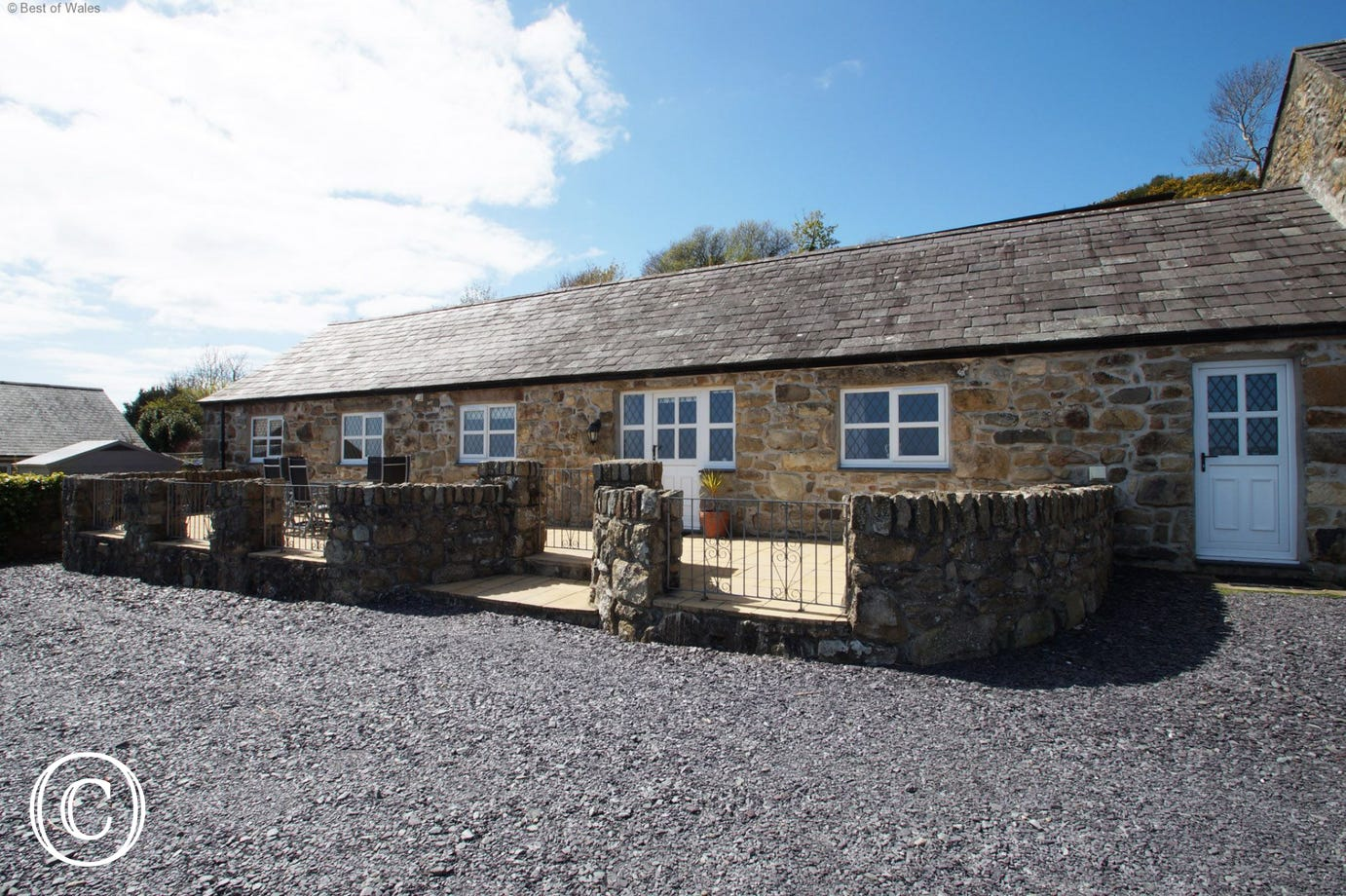 Abersoch Holiday Cottages, North Wales - Stabal y March