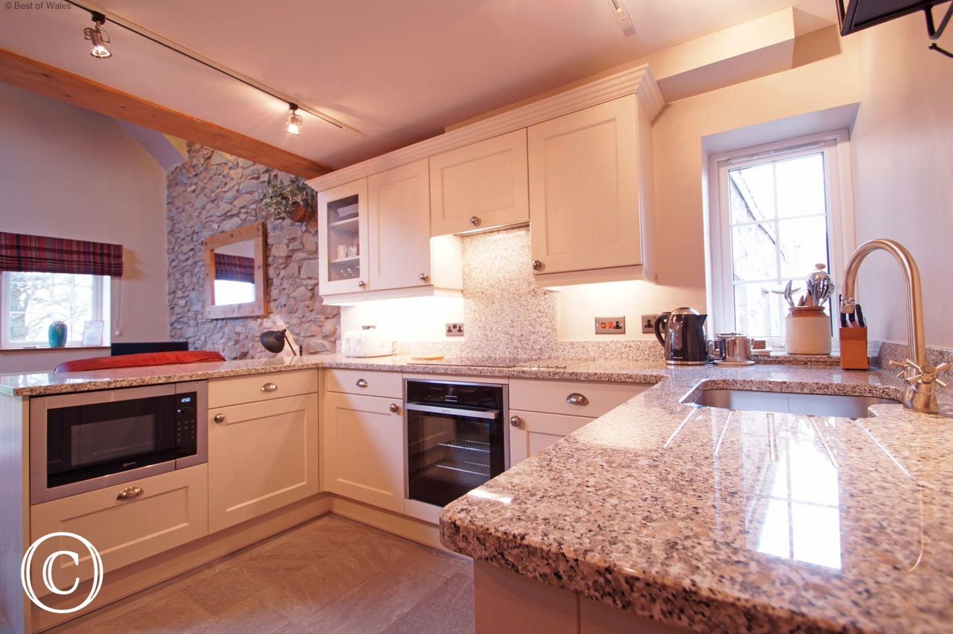 Newly fitted, fully equipped kitchen