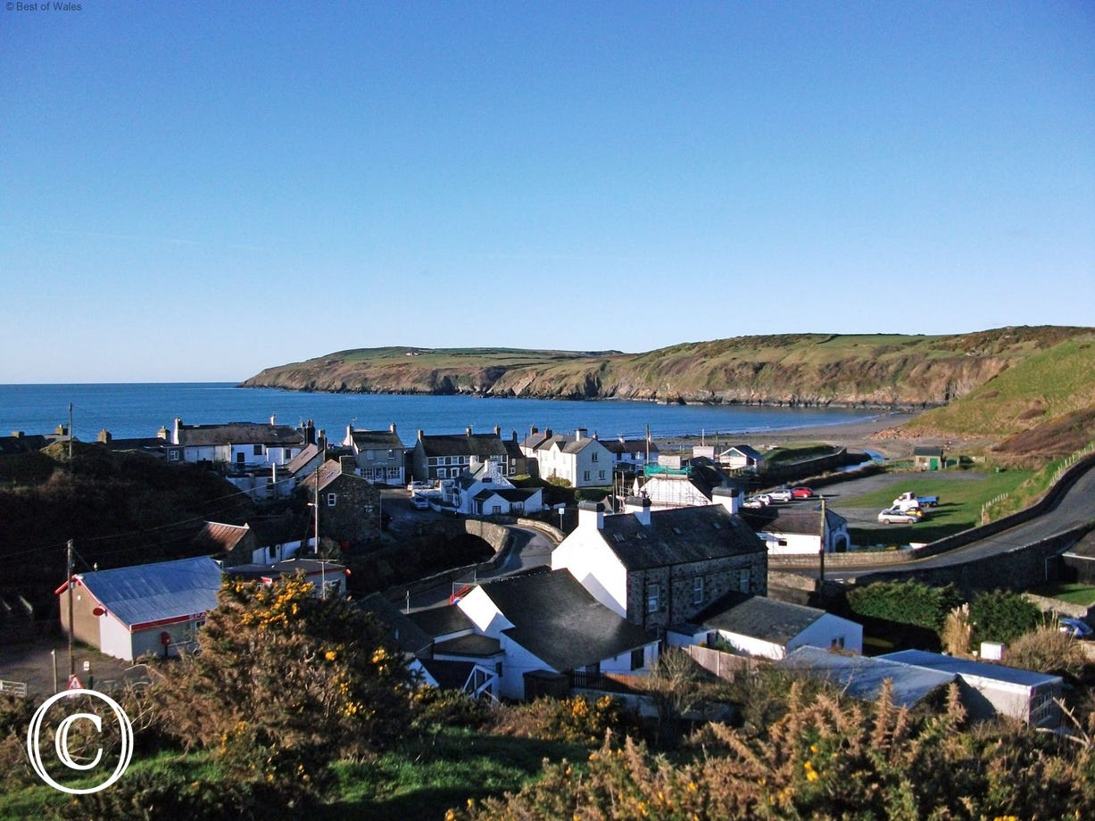 Aberdaron (6 miles) - a beautiful coastal village on the western tip of the peninsula