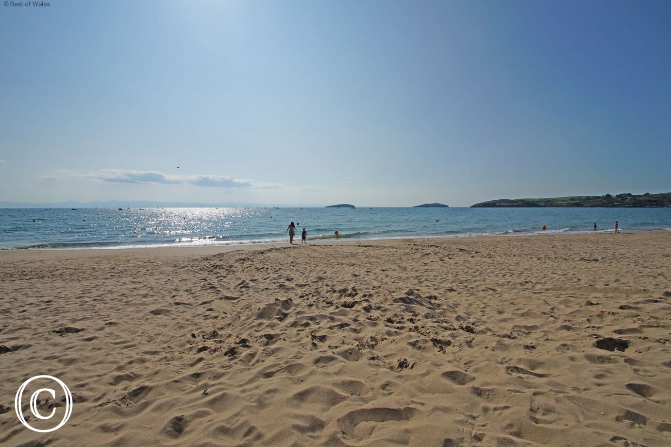 Abersoch beach (6.5 miles), one of many beaches within a short drive