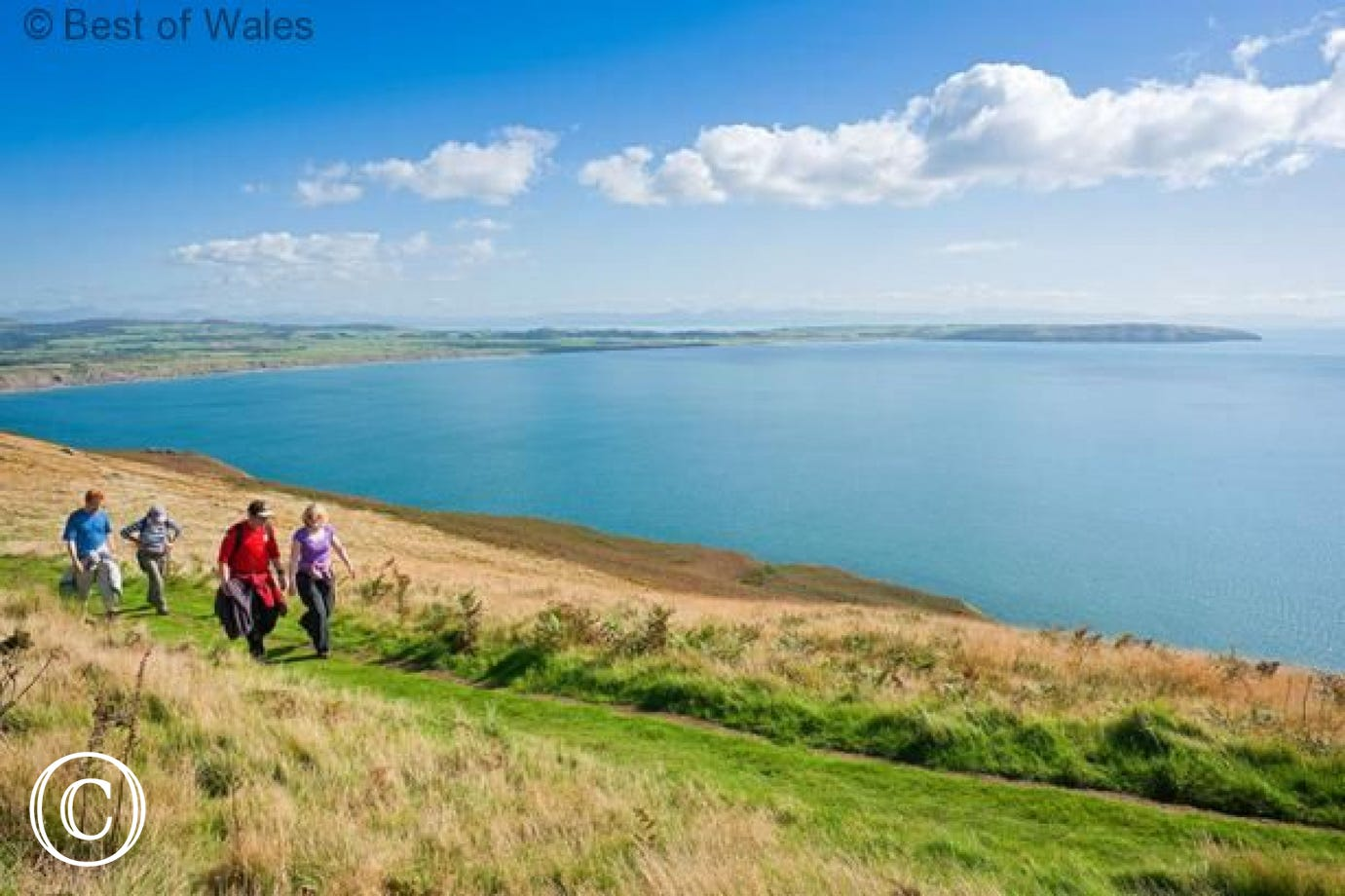 Llyn Coastal Path, 750 meters from your Llanbedrog accommodation